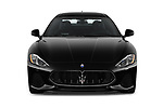 Car photography straight front view of a 2018 Maserati GranTurismo Automatic 2 Door Coupe