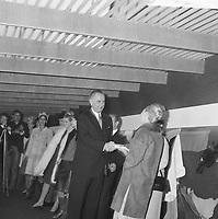 US Vice-President<br /> Lyndon B. Johnson open the  Food and Agriculture Exhibition at RAI, November 8, 1963 in  Amsterdam, North Holland<br /> <br /> Photographer Nijs, Jac. de / Anefo