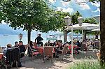 Austria, Upper Austria, Salzkammergut, Attersee at lake Attersee: Inn Fischer Vroni am See | Oesterreich, Oberoesterreich, Salzkammergut, Attersee am Attersee: Wirtshaus Fischer Vroni am See
