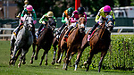 June 8, 2019 : #8, World of Trouble, ridden by jockey Manuel Franco, wins the Jaipur Invitational on Belmont Stakes Festival Saturday at Belmont Park in Elmont, New York. Dan Heary/Eclipse Sportswire/CSM