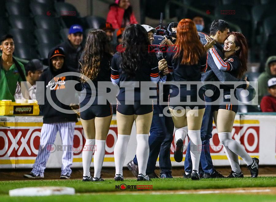 HitGirls , durante el 1er. encuentro entre Cañeros de los Mochis vs Naranjeros de Hermosillo. Segunda vuelta de la Liga Mexicana del Pacifico LMP2016. 23dic2016<br /> ©Foto: LuisGutierrrez/NortePhoto.com