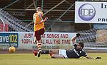 Sofien Moussa flies into Chris Cadden