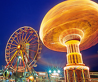 Amusement Rides, Ocean City, New Jersey