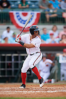 Florida Fire Frogs shortstop Ray-Patrick Didder (13) at bat during a game against the Daytona Tortugas on April 7, 2018 at Osceola County Stadium in Kissimmee, Florida.  Daytona defeated Florida 4-3.  (Mike Janes/Four Seam Images)