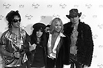 Motley Crue 1997 American Music Awards Nikki Sixx Mick Mars Vince Neil and Tommy Lee<br /> © Chris Walter