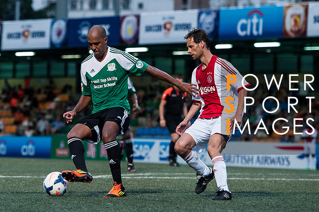 Aegon Ajax All Stars vs USRC during the Day 3 of the HKFC Citibank Soccer Sevens 2014 on May 25, 2014 at the Hong Kong Football Club in Hong Kong, China. Photo by Xaume Olleros / Power Sport Images