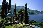 CHE, Schweiz, Tessin, Morcote: Parco Scherrer - Sonnentempel | CHE, Switzerland, Ticino, Morcote: Parco Scherrer - Sun Temple