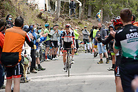 29th May 2021;  Giro D italia stage 20 Valle Spluga to Alpe Motta; Uae - Emirates Formolo, Davide arrives in Alpe Motta