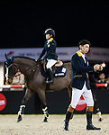 Riders in action during the Longines Hong Kong Masters on 2 March 2013 at the Asia World-Expo in Hong Kong, China. Photo by Victor Fraile / The Power of Sport Images