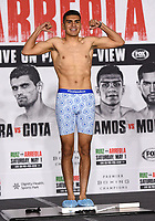 LOS ANGELES, CA - APRIL 30: Jesus Ramos Jr. attends the official weigh-in for the Andy Ruiz Jr. vs Chris Arreola Fox Sports PBC Pay-Per-View in Los Angeles, California on April 30, 2021. The PPV fight is on May 1, 2021 at Dignity Health Sports Park in Carson, CA. (Photo by Frank Micelotta/Fox Sports/PictureGroup)