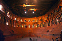 - Parma, the Farnese theater<br />