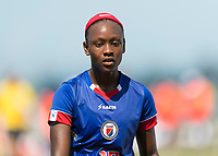 Bradenton, FL - Sunday, June 12, 2018: Danielle Etienne prior to a U-17 Women's Championship 3rd place match between Canada and Haiti at IMG Academy. Canada defeated Haiti 2-1.
