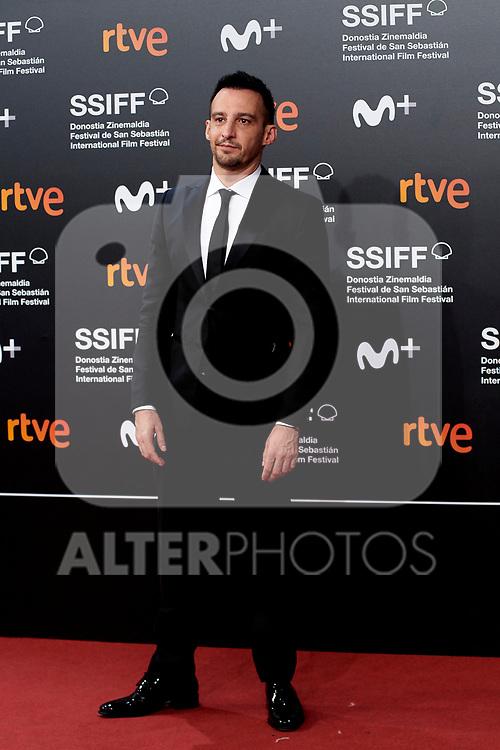 Alejandro Amenabar attend the photocall of  red carpet 'Mientras dure la guerra' during the 67th San Sebastian Donostia International Film Festival - Zinemaldia.September 20,2019.(ALTERPHOTOS/Yurena Paniagua)