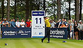 James MORRISON (ENG) during the semi final round of the Aberdeen Asset Management Paul Lawrie Matchplay being played over the Fidra Links at Archerfield, East Lothian from 4th to 7th August 2016:  Picture Stuart Adams, www.golftourimages.com: 06/08/2016
