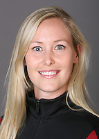 STANFORD, CA - OCTOBER 1: Alison Bartosik of the Stanford Cardinal synchronized swimming team poses for a headshot on October 1, 2008 in Stanford, California.