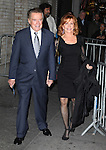"""Regis & Joy Philbin.attending the Opening Night Performance of 'Relatively Speaking""""- Three One Act Comedies by Ethan Cohen, Elaine May & Woody Allen at the Brooks Atkinson Theatre in New York City. October 20, 2011 © Walter McBride/WM Photography"""