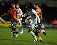 Pictured: Ashley Williams of Swansea City in action <br /> Picture by D Legakis / Athena Picture Agency, Swansea, 07815441513