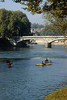 Europe/France/Franche-Comté/25/Doubs/ Besançon: promenade Micaud, bords du Doubs