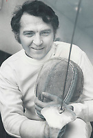 Bob Foxcroft got into sport of fencing by accident 19 years ago. Since then, he's become one of Canada's best in national and internatinal competition. His jabs at officials are sharp over such things as proper training for fencers.