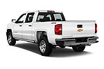 Car pictures of rear three quarter view of 2016 Chevrolet Silverado 1500 LS 4 Door Pickup Angular Rear