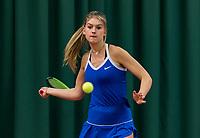 Wateringen, The Netherlands, November 27 2019, De Rhijenhof , NOJK 12 and16 years, Coco Bosman (NED)<br /> Photo: www.tennisimages.com/Henk Koster
