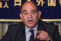 Raji Sourani, lawyer of Gaza Strip