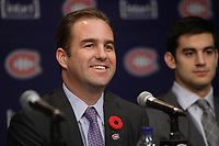 Montreal  (Quebec) CANADA - Nov 2011 File Photo - Hockey Player Max Pacioretty annonce he <br />  return to Hockey<br />  after a major injury. -  Geoff Molson