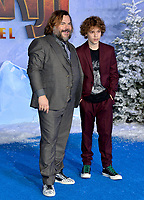 "LOS ANGELES, USA. December 10, 2019: Jack Black & Samuel Jason Black at the world premiere of ""Jumanji: The Next Level"" at the TCL Chinese Theatre.<br /> Picture: Paul Smith/Featureflash"