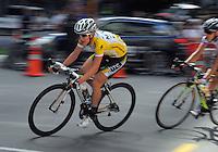 2011 champion Judith Arndt. NZCT Women's Cycling Tour of New Zealand Stage 6 - Criterium at Lambton Quay, Wellington, New Zealand on Sunday, 27 February 2011. Photo: Dave Lintott / lintottphoto.co.nz