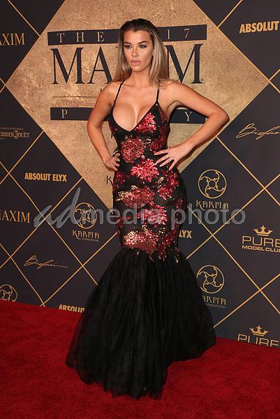 25 June 2017 - Hollywood, California - Emily Sears. 2017 MAXIM Hot 100 Party held at the Hollywood Palladium. Photo Credit: F. Sadou/AdMedia