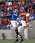 Lee McCulloch and Andres Fresenga