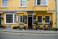 General view the Buccaneer inn in Tenby, Pembrokeshire, Wales, UK