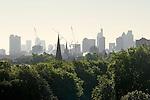 London Skyline 2012 from primrose Hill.