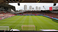 General view off Brentford FC ahead of kick-off during Brentford vs Rotherham United, Sky Bet EFL Championship Football at the Brentford Community Stadium on 27th April 2021