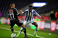 20th December 2020; Dragao Stadium, Porto, Portugal; Portuguese Championship 2020/2021, FC Porto versus Nacional; Zaidu Sanusi of FC Porto and João Victor of Nacional