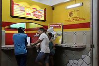Mc Dunald hamburguer store in Havana, a humble imitation of Mc Donalds