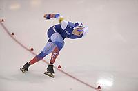 SPEEDSKATING: SALT LAKE CITY: Utah Olympic Oval, 09-03-2019, ISU World Cup Finals, 500m Men, Pavel Kulizhnikov (RUS), world record: 33.616, ©Martin de Jong