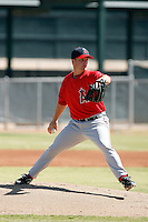 Ryan Brasier - Los Angeles Angels, 2009 Instructional League.Photo by:  Bill Mitchell/Four Seam Images..