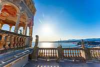 BNPS.co.uk (01202) 558833. <br /> Pic: Leggett/BNPS<br /> <br /> A villa with the potential to become one of the Cote d'Azur's most opulent homes has gone on sale for £6.8m (7.9 million euros).<br /> <br /> Villa Beau Site, which was built in 1870, is so unique that it is regarded as an official French historic monument.<br /> <br /> The Cure recorded their iconic video for the song Catch there in 1987 and its nearest neighbour is the former home of actor Sean Connery.<br /> <br /> The property comes with ten bedrooms, ten bathrooms and more than 20 other rooms, many with views over the Mediterranean towards the city of Nice.