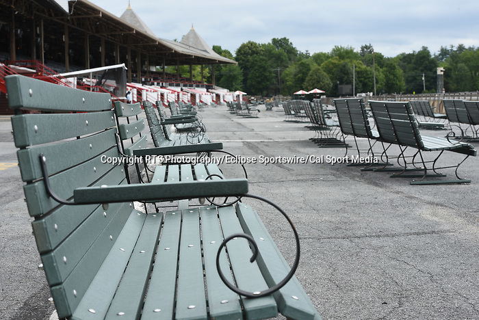 07162020:Morning workouts opening day Saratoga 2020 <br /> Robert Simmons/Eclipse Sportswire