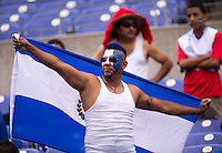 El Salvador Fan.  The United States defeated El Salvador, 5-1, during the quarterfinals of the CONCACAF Gold Cup at M&T Bank Stadium in Baltimore, MD.