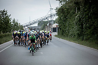 Peloton chasing the race leaders.<br /> <br /> GP Marcel Kint 2019 (BEL)<br /> One Day Race: Kortrijk – Zwevegem 188.10km. (UCI 1.1)<br /> Bingoal Cycling Cup 2019