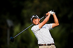 SHENZHEN, CHINA - OCTOBER 31: Eric Chun of South Korea tees oof on the 16th hole during the day three of Asian Amateur Championship at the Mission Hills Golf Club on October 31, 2009 in Shenzhen, Guangdong, China.  (Photo by Victor Fraile/The Power of Sport Images) *** Local Caption *** Eric Chun
