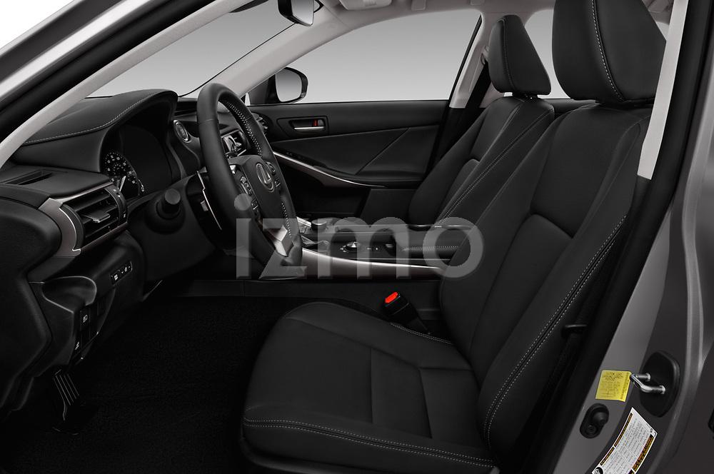 Front seat view of a 2018 Lexus IS 300 4 Door Sedan front seat car photos