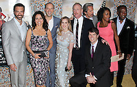 """HOLLYWOOD, LOS ANGELES, CA, USA - MARCH 24: Reid Scott, Julia Louis-Dreyfus, Tony Hale, Anna Chlumsky, Matt Walsh, Timothy Simons, Gary Cole, Sufe Bradshaw, Isiah Whitlock, Jr. at the Los Angeles Premiere Of HBO's """"Veep"""" 3rd Season held at Paramount Studios on March 24, 2014 in Hollywood, Los Angeles, California, United States. (Photo by Xavier Collin/Celebrity Monitor)"""