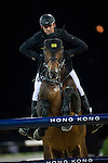 Marco Kutscher on Van Gogh competes during the AirbusTrophy at the Longines Masters of Hong Kong on 20 February 2016 at the Asia World Expo in Hong Kong, China. Photo by Juan Manuel Serrano / Power Sport Images