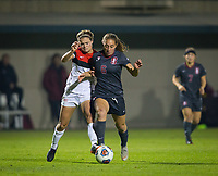STANFORD, CA - November 9, 2018: Carly Malatskey at Laird Q. Cagan Stadium. The top seeded Stanford Cardinal defeated the Seattle Redhawks 3-0 in the opening round of the NCAA tournament.