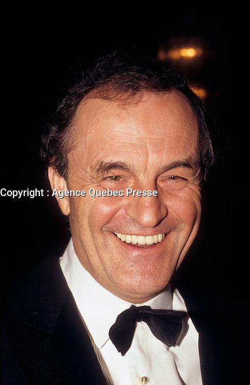 Le chef d'orchestre Charles Dutoit<br /> , date inconnue, vers 1990<br /> <br /> PHOTO :   agence Quebec Presse - Pierre Roussel
