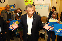 Terry McAuliffe ran for Virginia's governors office as a Democrat and lost to Creigh Deeds in 2009.