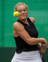 Hilversum, Netherlands, August 12, 2016, National Junior Championships, NJK, Lexie Stevens (NED)<br /> Photo: Tennisimages/Henk Koster